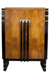 American art deco mid century furniture decophobia for Furniture of america wolfgang home bar cabinet